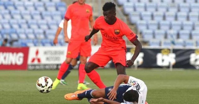 Diawandou Diagne Barça B 2014