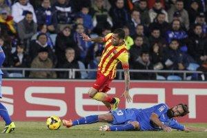 Getafe 2-5 Barcelona Dani Alves 2013