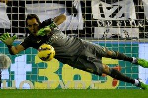 Valencia 0-1 Barça Claudio Bravo 2014