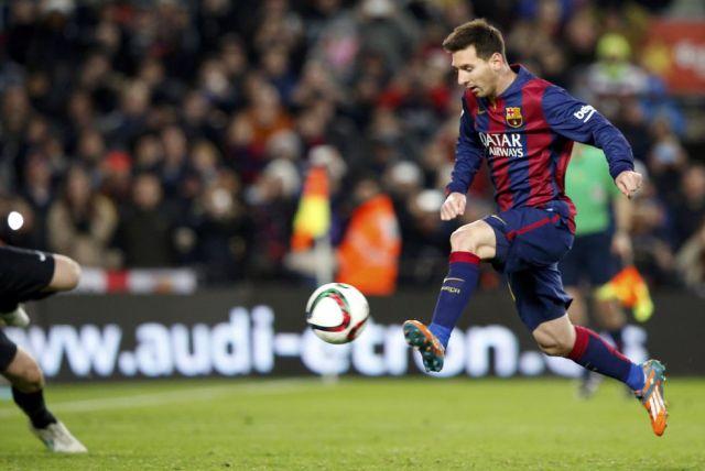 Barça 1-0 Atlético Messi goal 2015