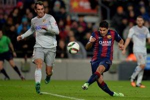 Barça 1-0 Atlético Suarez miss 2015
