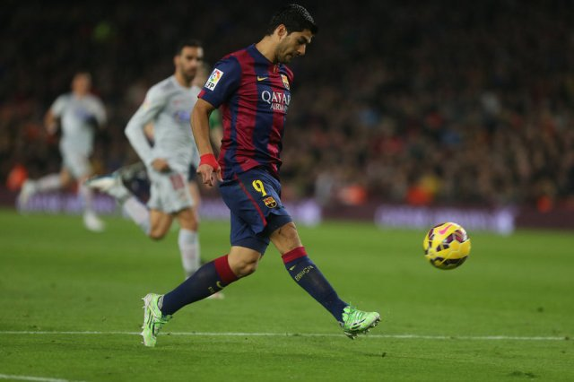 Barça 3-1 Atletico Suarez 2015