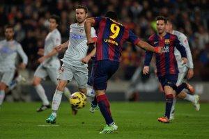 Barça 3-1 Atletico Suarez goal 2015