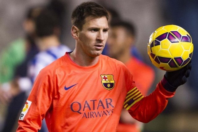 Deportivo 0-4 Barça Messi hat trick 2015