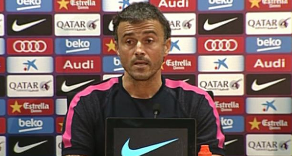 Luis Enrique press conference 2015