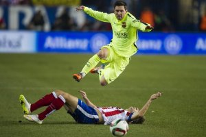 Messi just roasted you 2015