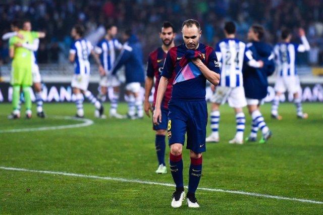 Real Sociedad 1-0 Barça Iniesta 2015