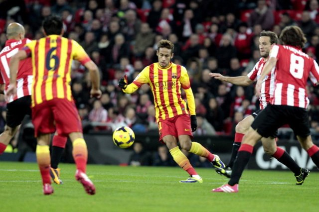 Athletic 1-0 Barça Neymar 2013