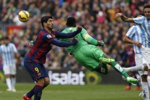 Barça 0-1 Malaga 2015