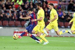 Barça 3-2 Villarreal Suarez 2015