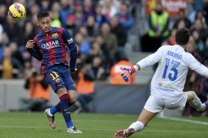 Barça 5-0 Levante Neymar goal 2015