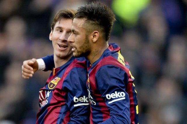 Messi Neymar levante 2015