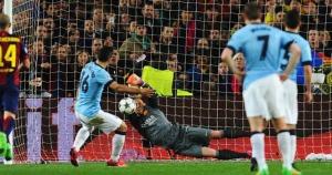 Barça 1-0 Man City Ter Stegen penalty Aguero  2015