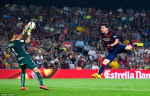 Barça 3-0 Eibar messi