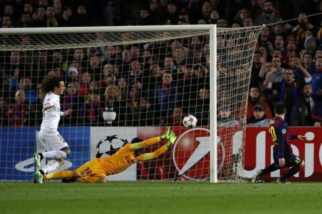 Barça 3-1 PSG Messi goal 2014