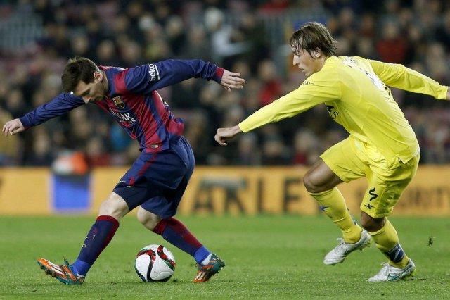 Barça 3-1 Villarreal Messi 2015