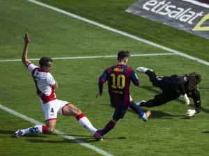 Barça 6-1 Rayo Messi second goal 2015