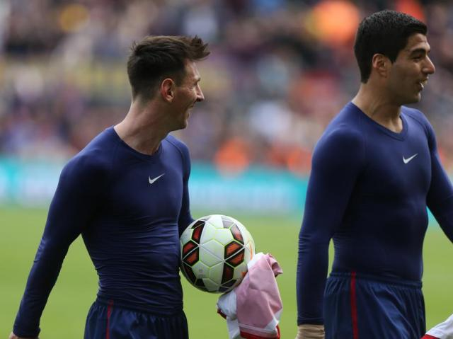 Barça 6-1 Rayo Messi Suárez 2015