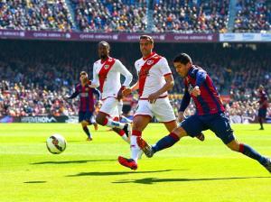 Barça 6-1 Rayo Suárez first goal 2015