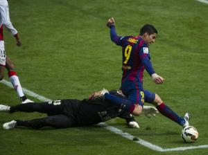 Barça 6-1 Rayo Suárez scores sixth goal 2015