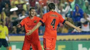 Eibar 0-2 Barça Messi 2015