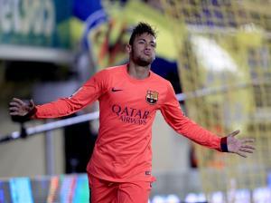Villarreal 1-3 Barça Neymar second goal 2015