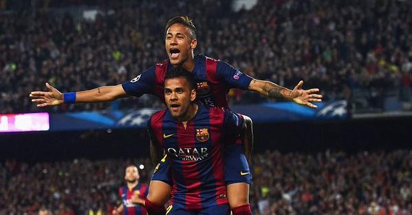 Barça 2-0 PSG Neymar Alves 2015