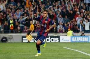 Barça 2-0 PSG Neymar goal 2015