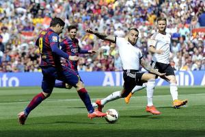 Barça 2-0 Valencia Suarez goal 2015