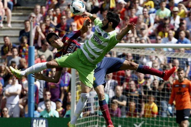 Barça 2-2 Getafe Busquets 2014