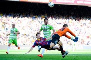 Barça 2-2 Getafe Messi 2014