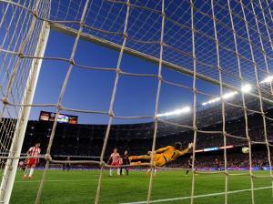 Barça 4-0 Almeria Messi goal 2015