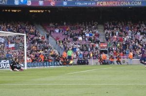 Barça 6-0 Getafe Messi Panenka Penalty 2015