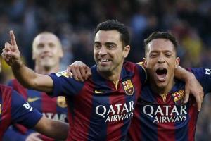 Barça 6-0 Getafe Xavi 2015