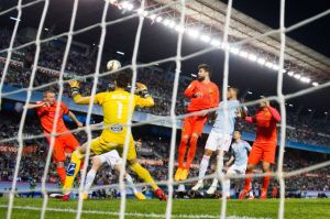 Celta 0-1 Barça Mathieu goal 2015