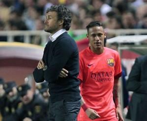 Neymar Luis Enrique Sevilla 2015