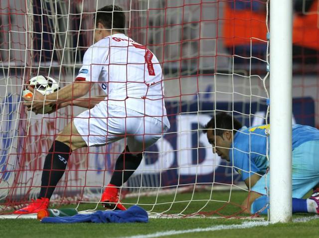 Sevilla 2-2 Barça Gameiro 2015