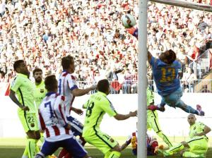 Atletico 0-1 Barça Bravo save 2015