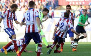 Atletico 0-1 Barça Messi goal wins liga 2015