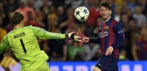 Barça 3-0 Bayern Messi second goal 2015