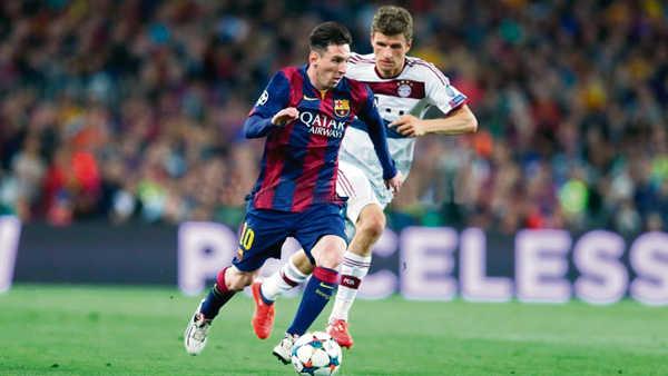 Barça 3-0 Bayern Munich 2015