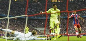 Bayern Barça Neymar first goal 2015