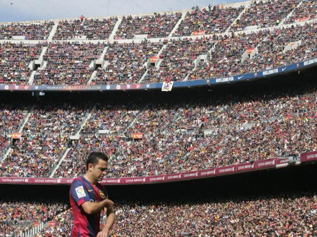 Xavi Camp Nou 2015