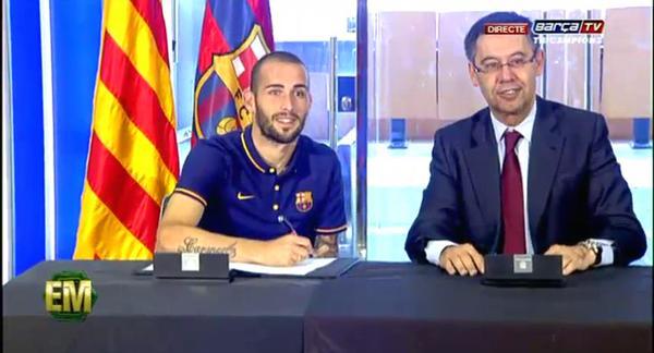 Aleix Vidal signs 2015
