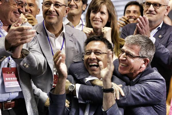 bartomeu wins elections 2015