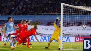 Celta 0-1 Barça Mathieu winning goal 2015