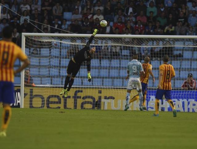 Celta 4-1 Barça Nolito goal 2015