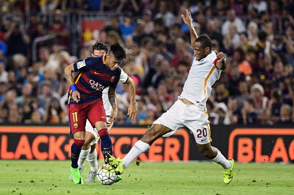 Seydou Keita Neymar Barça Roma Gamper 2015
